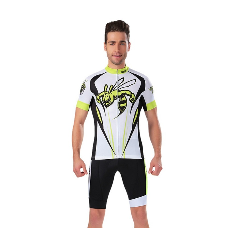 2017 Men's Cycling Jersey Sets Short Sleeve Ropa Ciclismo MTB Bike Cycle Bicycle Clothing Quick-Dry Racing Breathable Tops Sets breathable quick dry bike ropa ciclismo skintight short sleeve cycling jersey clothes gel pad bicycle cycling clothing