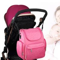 Multifunctional Diaper Bags With Fashion Style Mummy Backpack Baby Nappy Bag Travel Ladies Handbag Wet Bag