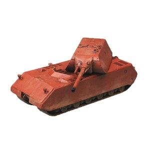 Легкая модель Chanycore Pz.Kpfw, немецкая супер тяжелая модель Maus, набор моделей 1/72, 36203, детские подарки 4359