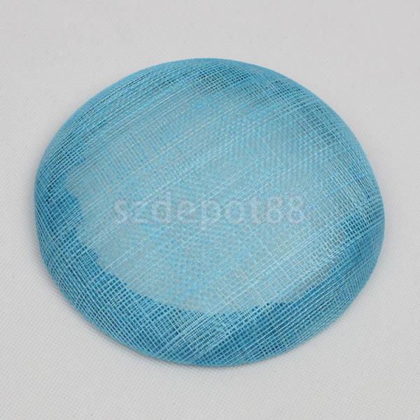 Base de chapeau pour mesamay rond | De 15cm, pour la fabrication de matériaux artisanaux, vente en gros