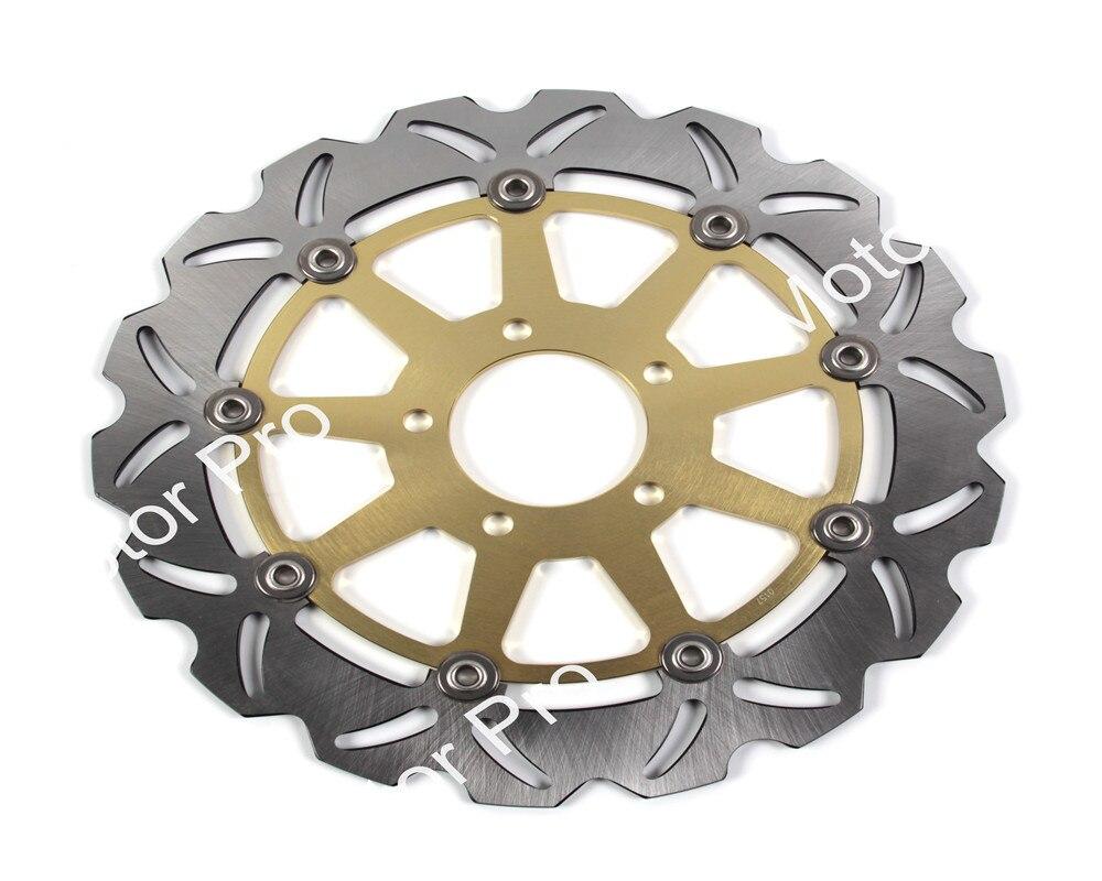 2 шт. для Suzuki системы GSX Р ХАЯБУСА 1300 1999 2000 2001 2002 2003 2004 2005 2006 2007 мотоцикл переднего тормозного диска ротора дискового тормоза