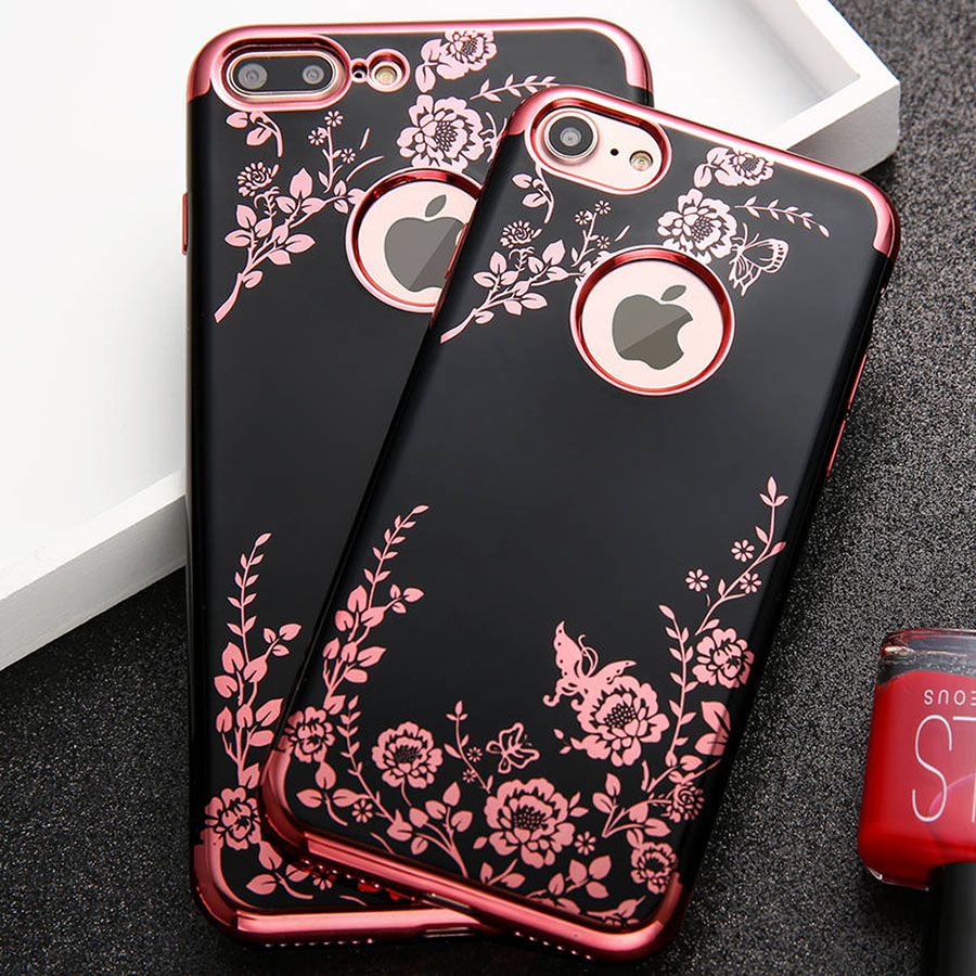 iphone 6 with case fashion flower phone cases for iphone 7 6 6s plus 15125