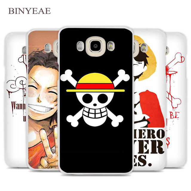 san francisco 51859 684b6 US $2.89 |BINYEAE One Piece Pirates logo Cell Phone Case Cover for Samsung  Galaxy J1 J2 J3 J5 J7 C5 C7 C9 E5 E7 2016 2017 Prime-in Half-wrapped Case  ...