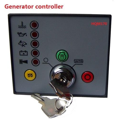 Generator controller / power unit controller / self starting module /HQM170 electronics controller controls module amf unit dse704