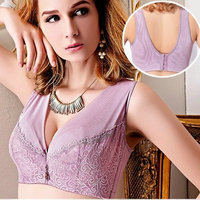Women S Underwear Bra Summer Thin Lace Embroidery Bra Full Cup Large Size Bra 100D E