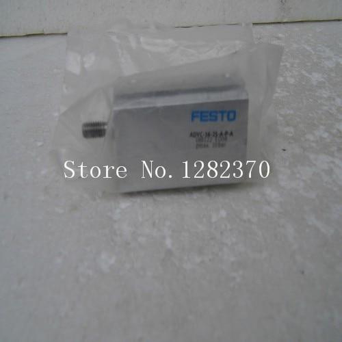 [SA]  FESTO cylinder ADVC-16-25-APA spot 188122 --2pcs/lot