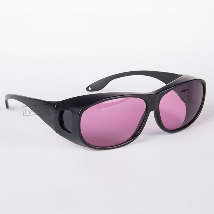 HANBEIHE LSG-11 laser safety eyewear with o.d 4+ for 750-860nm lasers, included 755nm 808nm 810nm 820nm 830nm lasers soft laser healthy natural product pain relief system home lasers