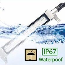 CRUBON IP67 водонепроницаемые маслостойкие рабочие огни с ЧПУ 24 В/220 В светодиодный металлический взрывозащищенный Рабочий фонарь с вращением на 360 градусов