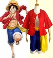Special Sale anime One Piece Monkey D Luffy Halloween Cosplay Suit Costume
