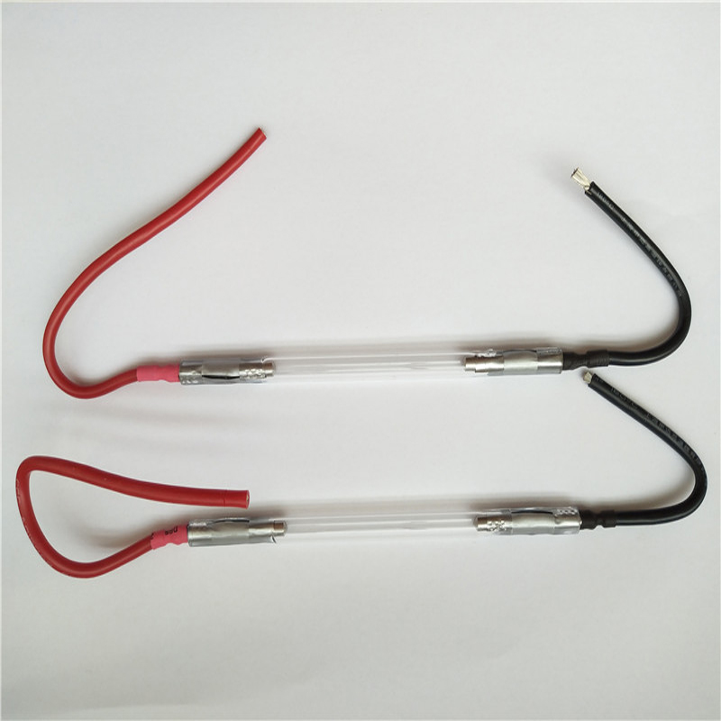 Chinese ipl xenon lamp : 7*50*115 mm- wire ( 2 pieces order ) ,ipl flash lamp for cosmetic laser , best price IPL lamps