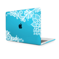 Redlai Cearance sale Lace Clear Crystal Hard sell for Macbook Air 12 inch A1534 Laptop case