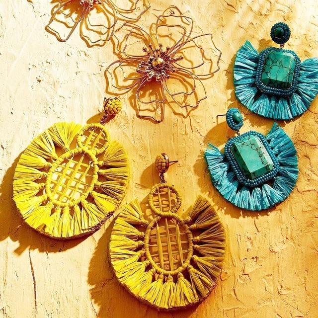 47198003c Best Lady BA Fashion Tassel Earrings for Women Jewelry Wedding Bohemian  Fringed Drop Earrings Beaded Dangle