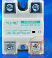 Wholesale SSR 80DA Single Phase DC Controlled AC Solid State Relay ZYG D4880 DC AC 80A
