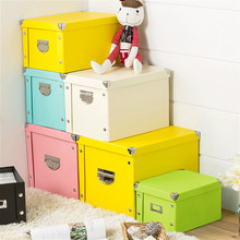New Large Storage Box File Toy Clothes Foldable Desktop Sundries Stationery Office Book Container Organiser