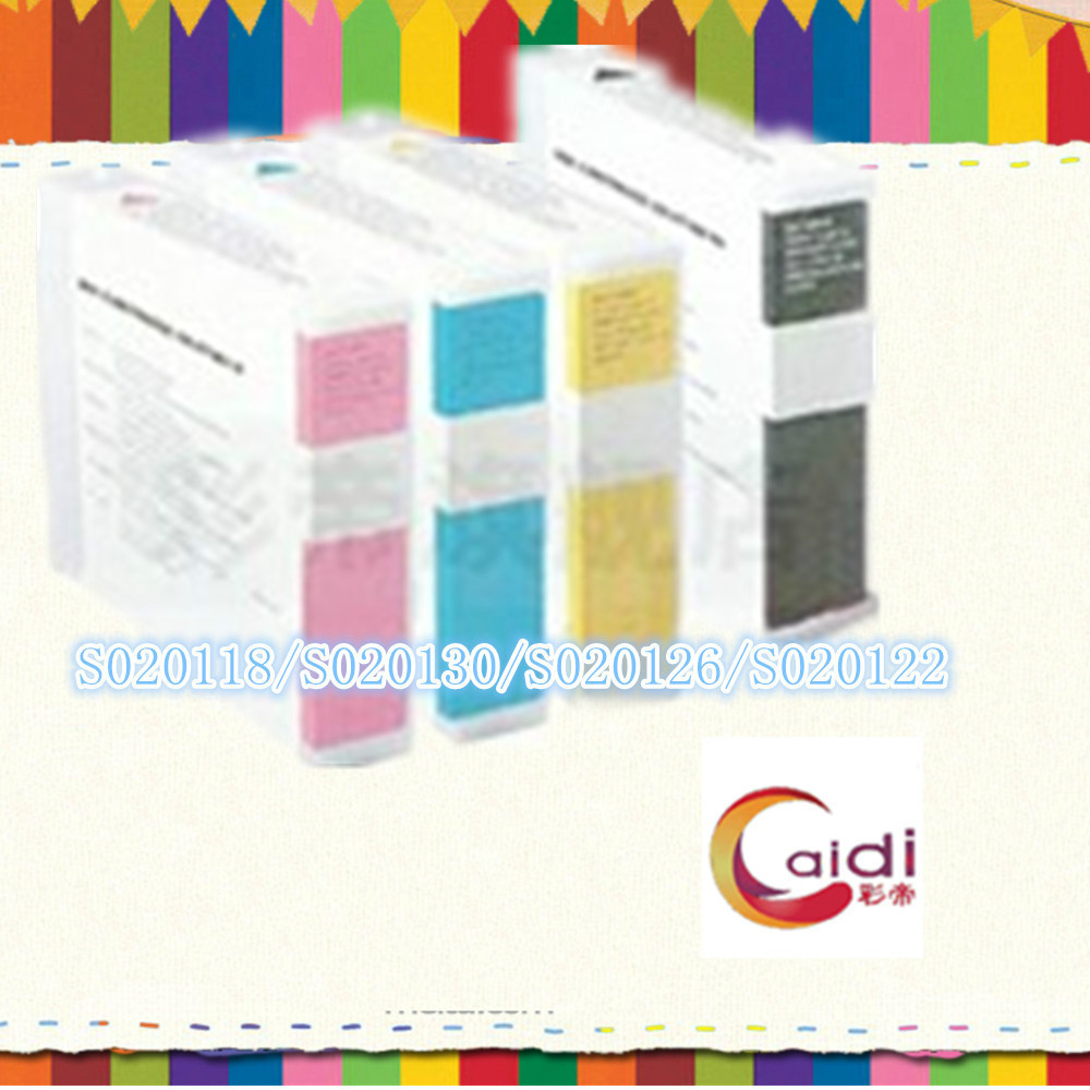 4Pack(1black, 1cyan, 1magenta, 1yellow )  S020118/S020130/S020126/S020122 Compatible for Epson Stylus Color 3000 4pcs compatible ink cartridge s020118 s020130 s020126 s020122 for epson stylus color 3000 mj 5000c epson mj 8000c