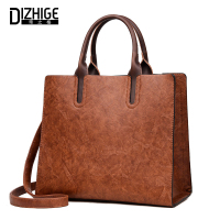 DIZHIGE Luxury Handbags Women Bags Designer Handbags High Quality Leather Bags Women Famous Brands Solid Ladies