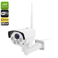 2MP p2p mobile view 5X auto focus zoom Sony sensor HD wireless IP CCTV cameras