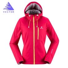 VECTOR Softshell Jacket Men Women Windproof Waterproof Outdoor Jacket Adult Camping Hiking Jackets Rain Jacket Windstopper