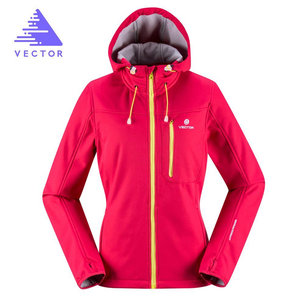 VECTOR Softshell Jacket Women Windproof Waterproof Outdoor Jacket font b Camping b font Hiking Jackets Female