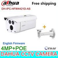 Wholesale Original Dahua 4MP Bullet Camera IPC HFW4421D AS Full HD IP CCTV Network Audio Monitoring