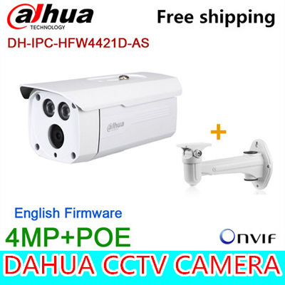 Wholesale Original Dahua 4MP bullet Camera IPC-HFW4421D-AS Full HD IP CCTV Network Audio monitoring Web POE DH-IPC-HFW4421D-AS складной нож vallation сталь cpm s30v алюминий