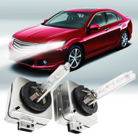 LED 12V Car Motorcycle Headlight Xenon Replacement Bulbs Lamps Set Kit 35W D1S 12000K 55W 4300K