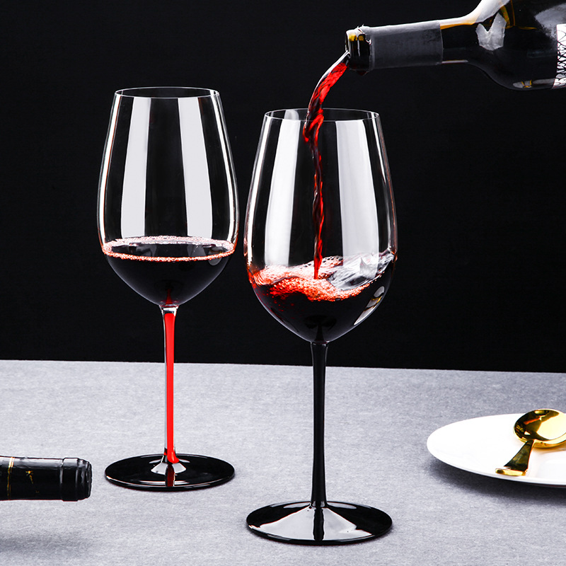 Crystal Glass Goblet Creative And Red 29CM 930ML Bar-Supplies European-Style Lead-Free