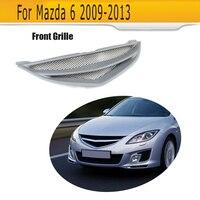 Автомобильные решетки переднего бампера Решетка для Mazda 6 Mazda 6 седан 4 двери только 2009 2013 GS GT I S серый FRP
