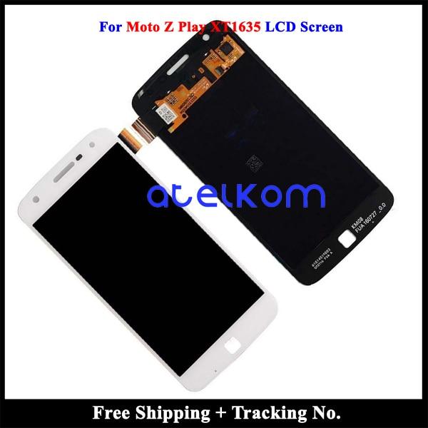 Getest Grade AAA Voor Motorola Moto Z Spelen XT1635 LCD Display Voor Moto XT1635 Z Spelen Lcd scherm Touch Digitizer montage-in LCD's voor mobiele telefoons van Mobiele telefoons & telecommunicatie op AliExpress - 11.11_Dubbel 11Vrijgezellendag 1