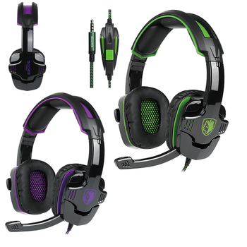 PS4 Gaming Headphones Headsets Headband Earphone with Microphone Led Light for Computer PC Laptop Tablet LOL Game New XBOX ONE
