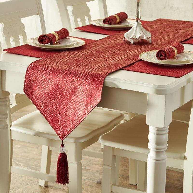 Tissu européen nappe Table basse drapeau chinois moderne minimaliste tapis de Table housse de Piano ensemble nappes 5