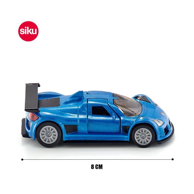 Modellauto NEU Blister Siku 1444 Gumpert Apollo blaumetallic °