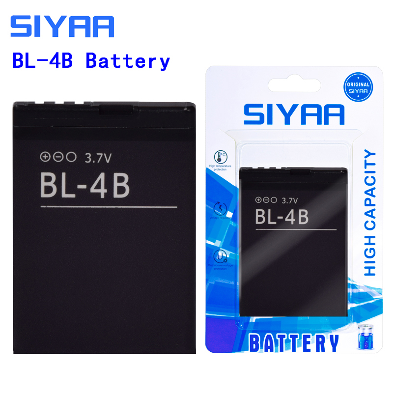 Image 3 - SIYAA Phone Battery BL 4C BL 5C BL 4B BL 5B For Nokia 6100 6300 6260 6136S 2630 5070 C2 01 Lithium BL 4C BL 5C BL5C Batteries-in Mobile Phone Batteries from Cellphones & Telecommunications