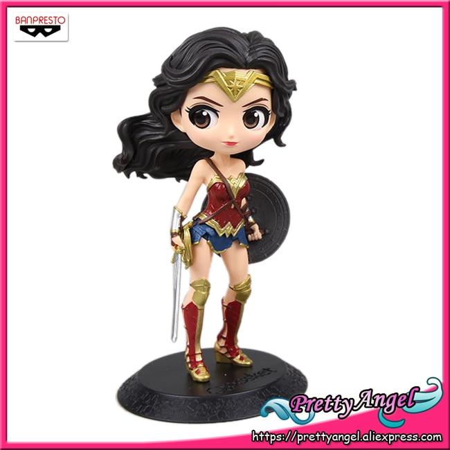PrettyAngel Genuine Banpresto Q Posket Justice League Wonder Woman Collection Figure