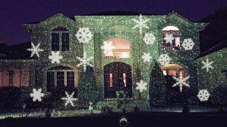 outdoor christmas light projector uk