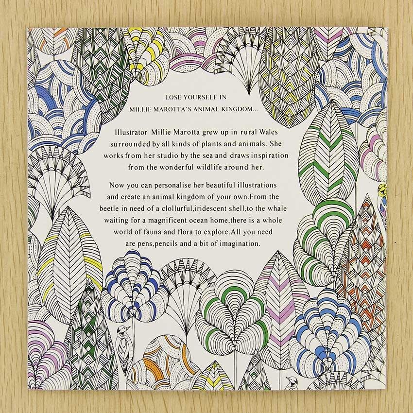 ✓Oficina de la escuela libro Reino Animal 24 páginas pintado a mano ...