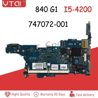 840 G1 motherboard 747072 001 FOR HP 840 G1 Laptop motherboard CPU:i5 4200/4300 6050A2559101 MB A03 730803 601 100% Tested