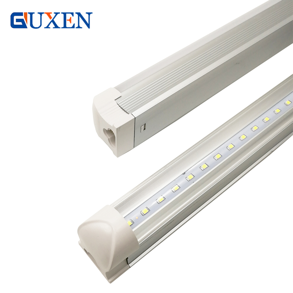 Store In US+T8 integrated LED tube light 22W 2000LM SMD2835 4ft 1200mm 85-265V 180 degree Led Fluorescent Tube Lamp CE RoHS integrated led tube light t8 1200mm 4ft 18w led fluorescent lamp epistar smd 2835 30pcs lot