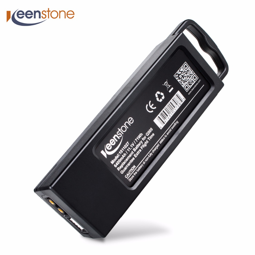 Keenstone Upgrade 3S 6400mAh 11.1V 70Wh LiPo Battery for Yuneec Typhoon Q500/Q500 4K/Q500+ Typhoon G Drone RC Quadcopter yuneec typhoon h rtf black grey гексакоптер