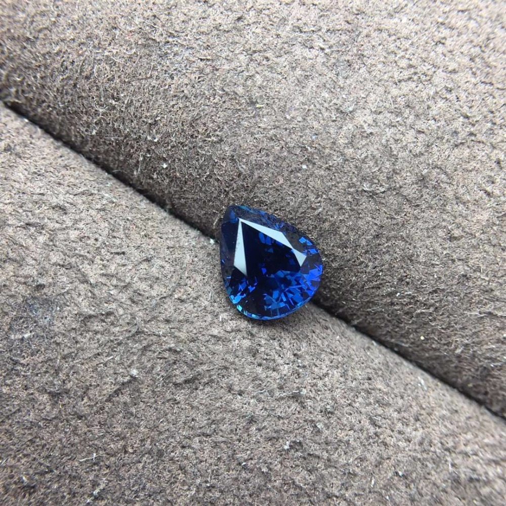 GIL Certificazione 1.82ct Riscaldata Ovale Naturale di Fronte Royal Blue Sapphire Allentati di Pietra Allentati Pietre PrezioseGIL Certificazione 1.82ct Riscaldata Ovale Naturale di Fronte Royal Blue Sapphire Allentati di Pietra Allentati Pietre Preziose