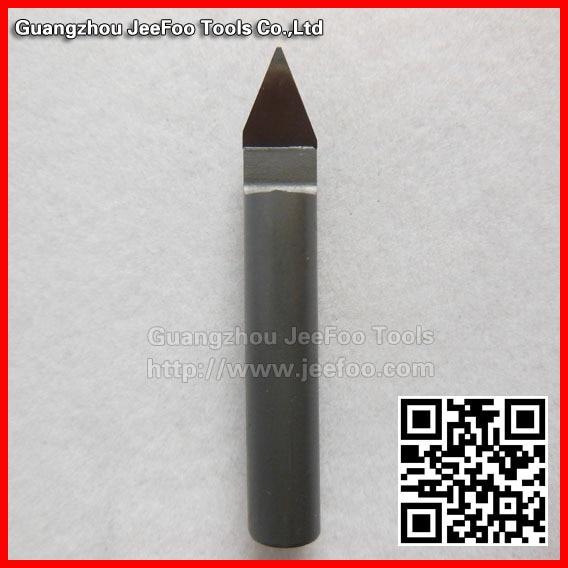 ФОТО 6*45Degree*0.3mm Flat Bottom Engraving Tools/ PVC  Cutters/ PCD Diamond Bits / Diamond pcd drill bits