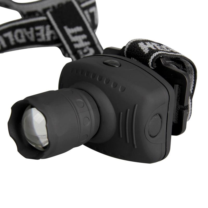 LED Headlamp Flashlight Frontal Lantern Zoomable Head ...
