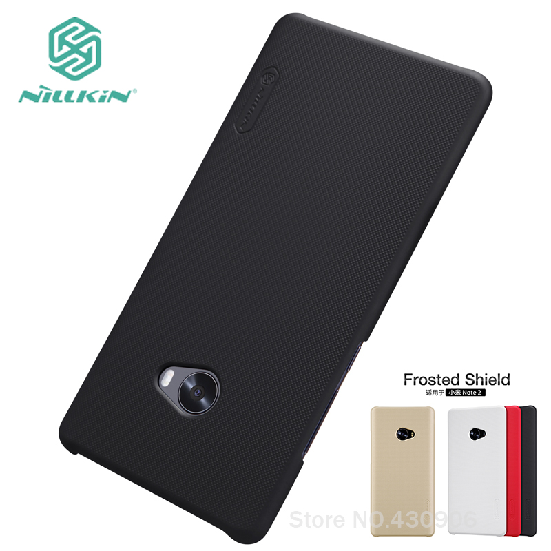 For Xiaomi Mi Note 2 Case Nillkin Cover High Quality Super Frosted Shield For Xiaomi Mi Note 2 Cover 5.7''