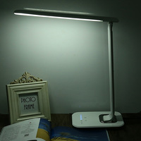 1000lm 12W Dimmable LED Book Light Eye Care LED Desk Lamp Touch Sensor Foldable LED Night
