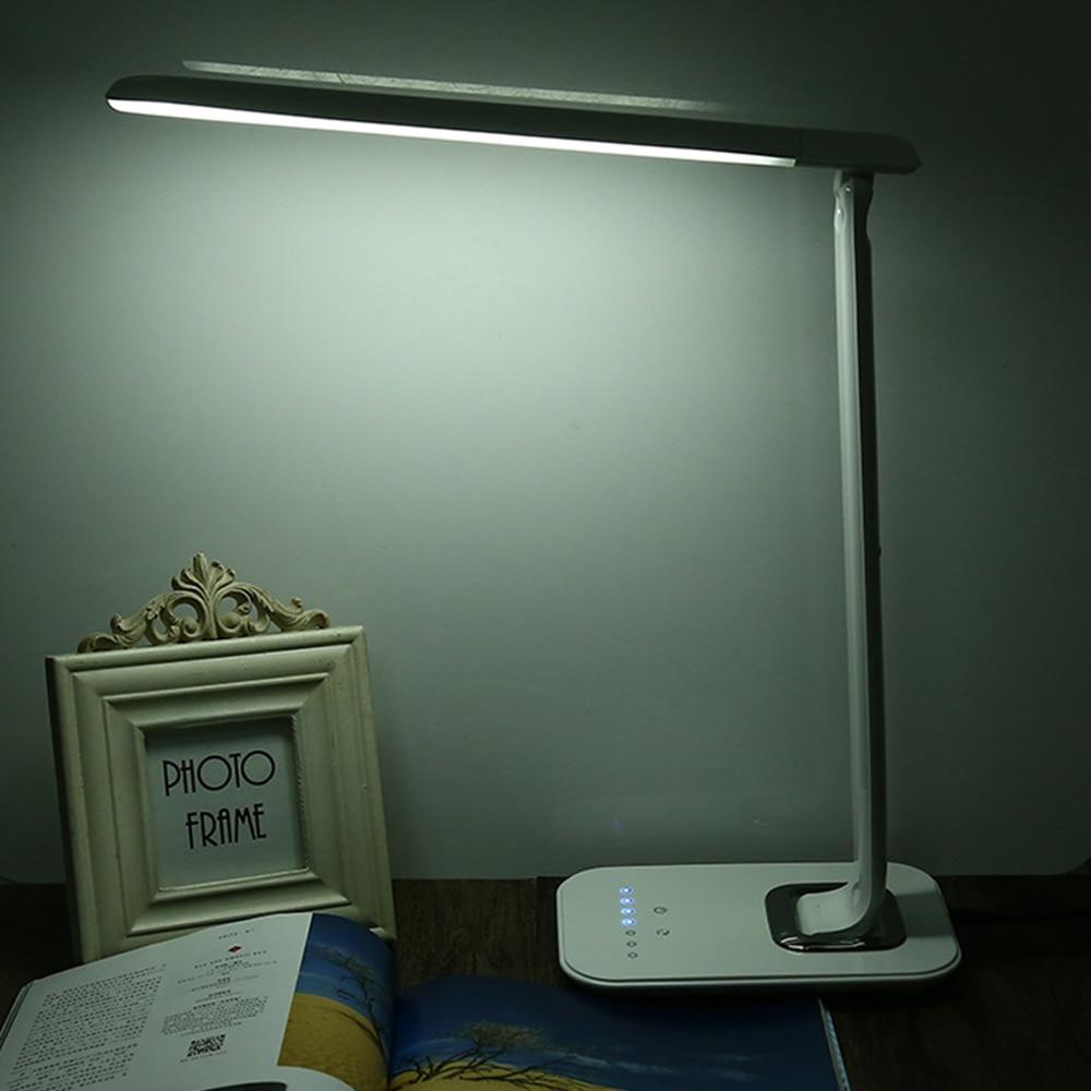 1000lm 12w dimmable led book light eye care led desk lamp touch sensor foldable led night light. Black Bedroom Furniture Sets. Home Design Ideas