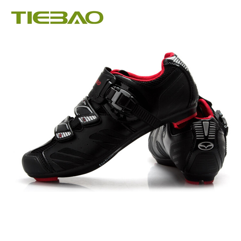 Купить с кэшбэком Tiebao 2019 pro road bike shoes sapatilha ciclismo bicycle riding shoes road superstar riding bike original cycling sneakers