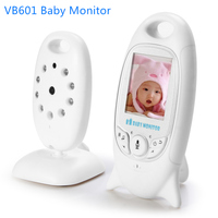 VB601 Wireless Baby Monitor Infant 2.4GHz Video Baby Monitor 2 Way Talk Temperature Display Night Vision Music Nanny Monitor