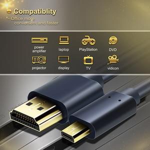Image 3 - CABLETIME New Arrival kabel Micro HDMI do HDMI dwukierunkowy kabel HDMI 2k * 4k 2.0 HD wysokiej jakości HDMI CL4 do pudełka PS4 C127