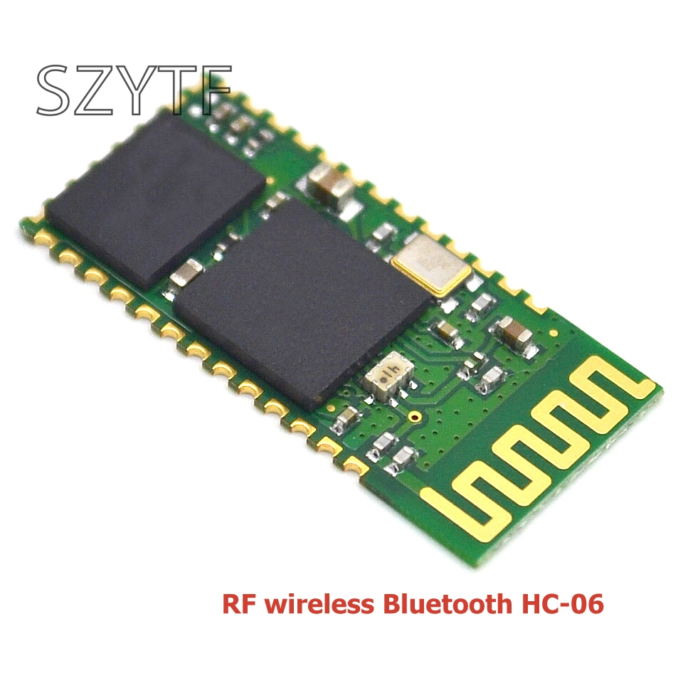 10pcs/lot <font><b>hc</b></font>-<font><b>06</b></font> <font><b>HC</b></font> <font><b>06</b></font> RF Wireless Bluetooth Transceiver Slave Module RS232 / TTL to UART converter and adapter image
