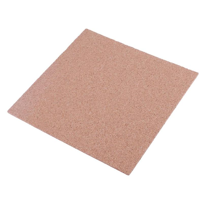 3D Printer 220*220*3mm Cork Sheets Heated Bed Hot Plate with high temperature Adhesive Tape for 3D p